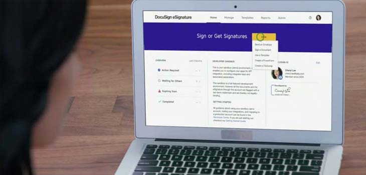 Portrait d'éditeur : DocuSign
